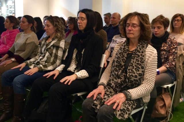 Éxito en la charla de Mindfulness