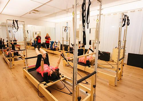 Pilates con máquinas o Estudio 24