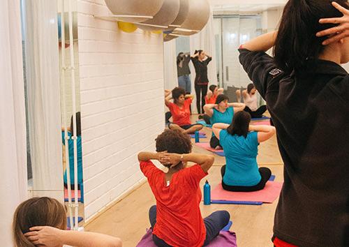 Pilates para embarazadas 22