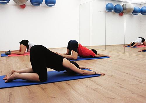 Pilates para embarazadas 14